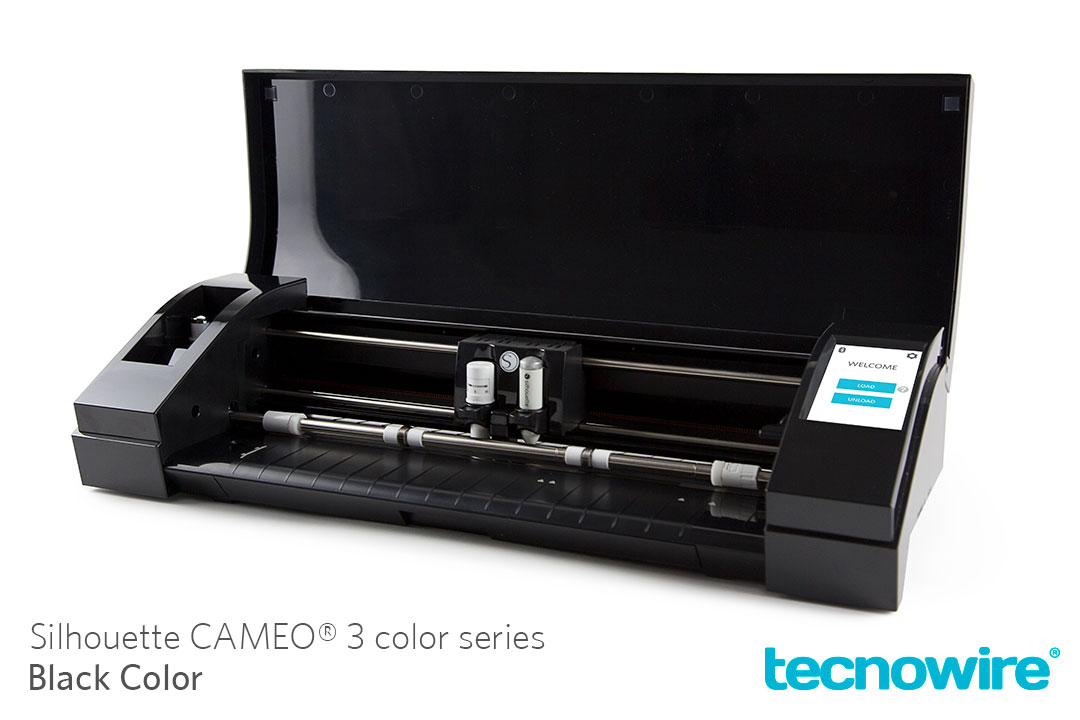 Silhouette CAMEO 3 Color Series Black en Mexico por Tecnowire