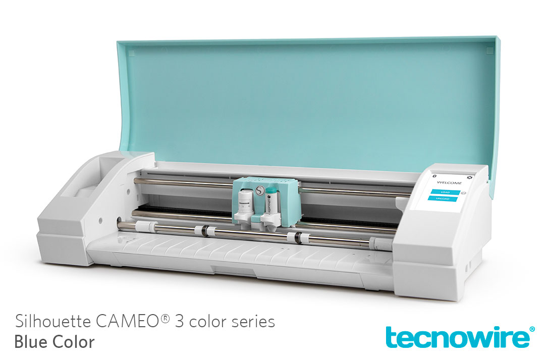 Silhouette CAMEO 3 Color Series Blue en Mexico por Tecnowire