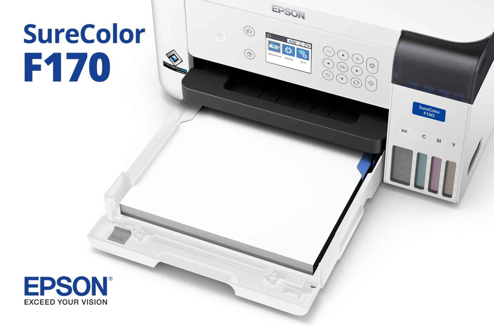 Primer Impresora Sublimacion Epson SureColor F170 Mexico